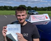 Driving Lessons in Wellingborough | James passed 1st time with Flexdrive Driving School