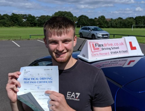 James Dawson Passes 1st Time | 2 Driving Faults | Driving Lessons in Wellingborough | 15-08-2019