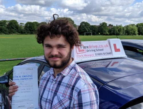 Owen Kier Passes 1st Time | Driving Lessons in Wellingborough | 08-08-2019