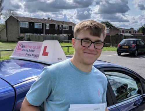 Zak Wilson Passes 1st Time | 2 Driving Faults | Driving Lessons in Wellingborough | 13-08-2019