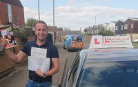 Automatic Driving Lessons in Kettering and Corby | Aleksandru passed 1st time with Flexdrive Driving School