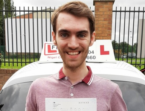 Andrew Turnbull Passes | Driving lessons in Northampton | 02-09-2019