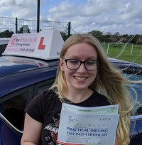 Driving Lessons in Wellingborough | Lauren passed 1st time with Flexdrive driving School