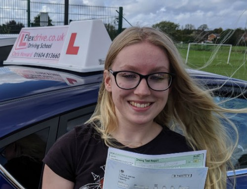 Lauren Butler Passes 1st time | Driving lessons in Wellingborough | 26-09-2019