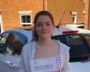 Driving Lessons in Wellingborough | Leah passed 1st time with Flexdrive Driving School