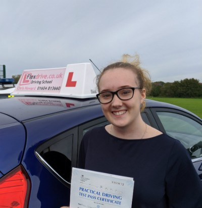 Driving Lessons in Wellingborough | Charlie Passed with Flexdrive Driving School