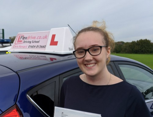 Charlotte Rust Passes 1st time | Driving lessons in Wellingborough | 03-10-2019