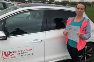 Driving Lessons in Wellingborough | Alex passed with Flexdrive Driving School