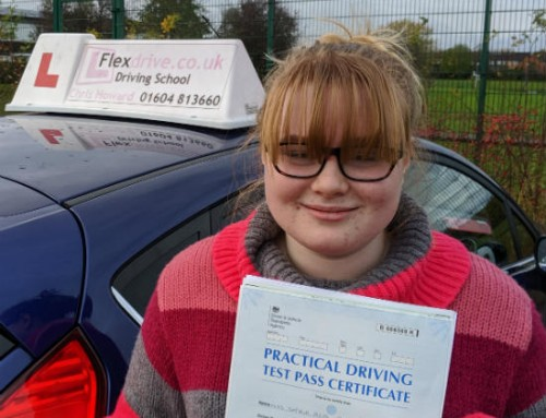 Sophia Fleming Passes | 3 Driving Faults | Driving lessons in Wellingborough | 14-11-2019