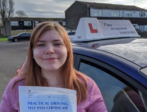 Kattie Stoneman Passes 1st time | 0 Driving Faults | Driving lessons in Wellingborough | 03-12-2019