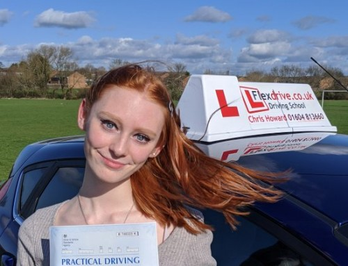 Driving lessons in Wellingborough | Testimonial | Niamh Geddes