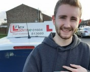 Driving Lessons in Wellingborough   Owen passed 1st time with Flexdrive Driving School