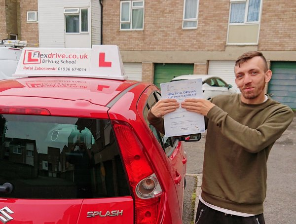 Automatic Driving Lessons in Corby and Kettering | Ian passed with Flexdrive Driving School