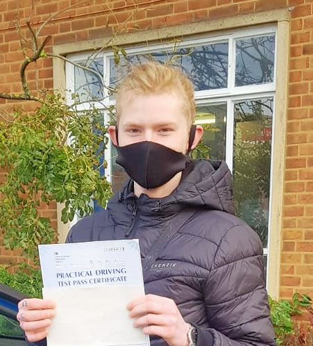 Driving Lessons in Northampton | Konrad passed with Flexdrive Driving School