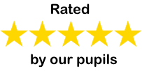 5 star rated by our pupils
