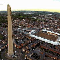 Northampton town lift tower