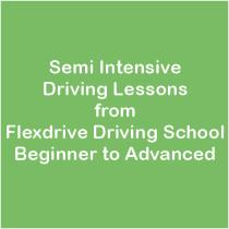semi intensive driving lessons