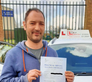 Driving Lessons in Northampton | Daniel passed with Flexdrive Driving School