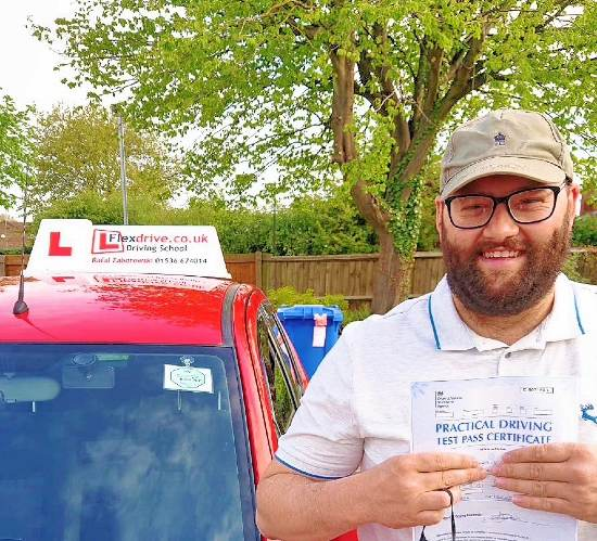 Automatic Driving Lessons in Kettering and Corby | Darren passed with Flexdrive Driving School