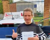 Driving Lessons in Northampton | David passed with Flexdrive Driving School
