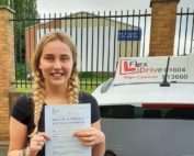 Driving Lessons in Northampton   Jennifer passed with Flexdrive Driving School