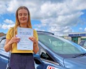 Driving Lessons in Wellingborough   Mia Springett passed 1st time with Flexdrive Driving School
