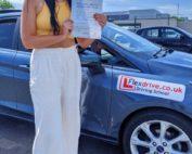 Driving Lessons in Wellingborough   Sophie Hooper-Warner passes with Flexdrive Driving School
