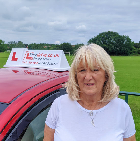 Automatic Driving Lessons in Wellingborough | Christina passes 1st time with Flexdrive Driving School