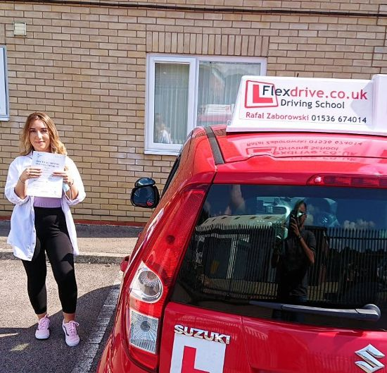 Automatic Driving Lessons in Kettering   Ece passed with Flexdrive Driving School