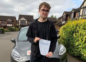 Driving Lessons in Wellingborough   Nathan passes with Flexdrive Driving School