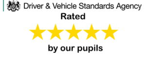 DVSA logo and rated 5 stars