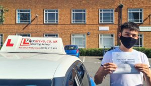 Driving Lessons in Northampton   Adrian passed with Flexdrive Driving School