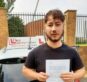 Driving Lessons in Northampton   Jason Lindop passed with Flexdrive Driving School