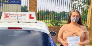 Driving Lessons in Northampton | Lauren passes 1st time with Flexdrive Driving School